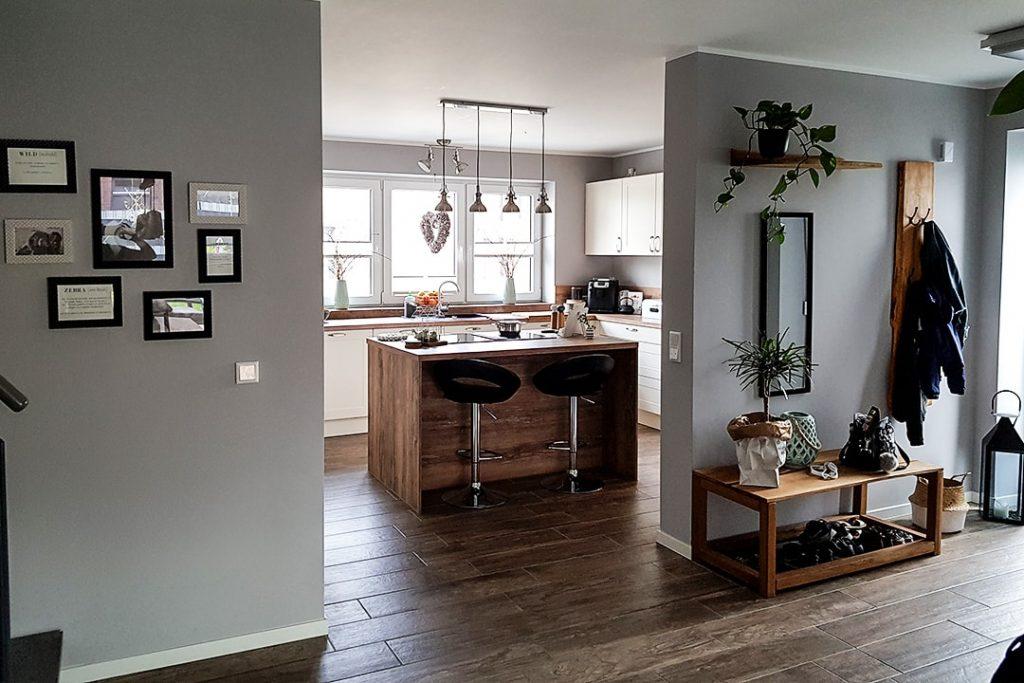 Kundenprojekt Küche Fliesen Lodge