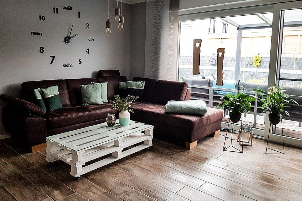 Kundenwohnzimmer Fliese Lodge