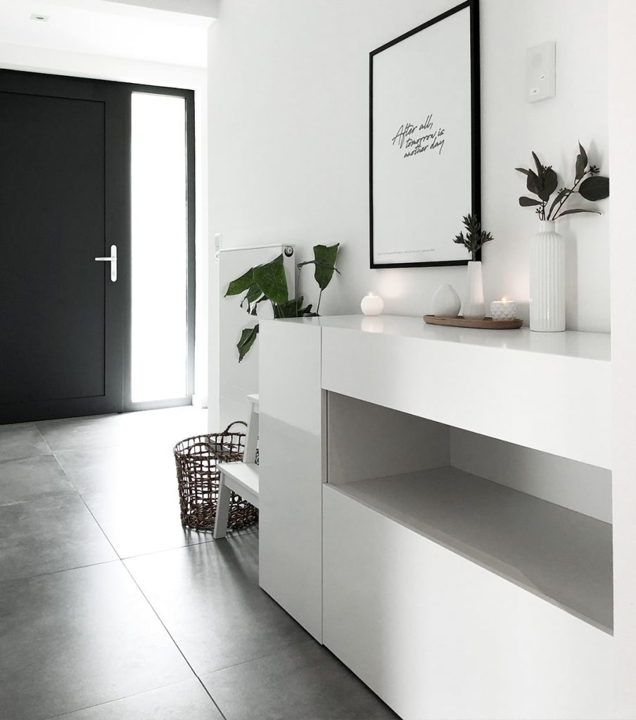 Betonoptik Fur Das Ganze Haus Fliesen Sale Kundenprojekt