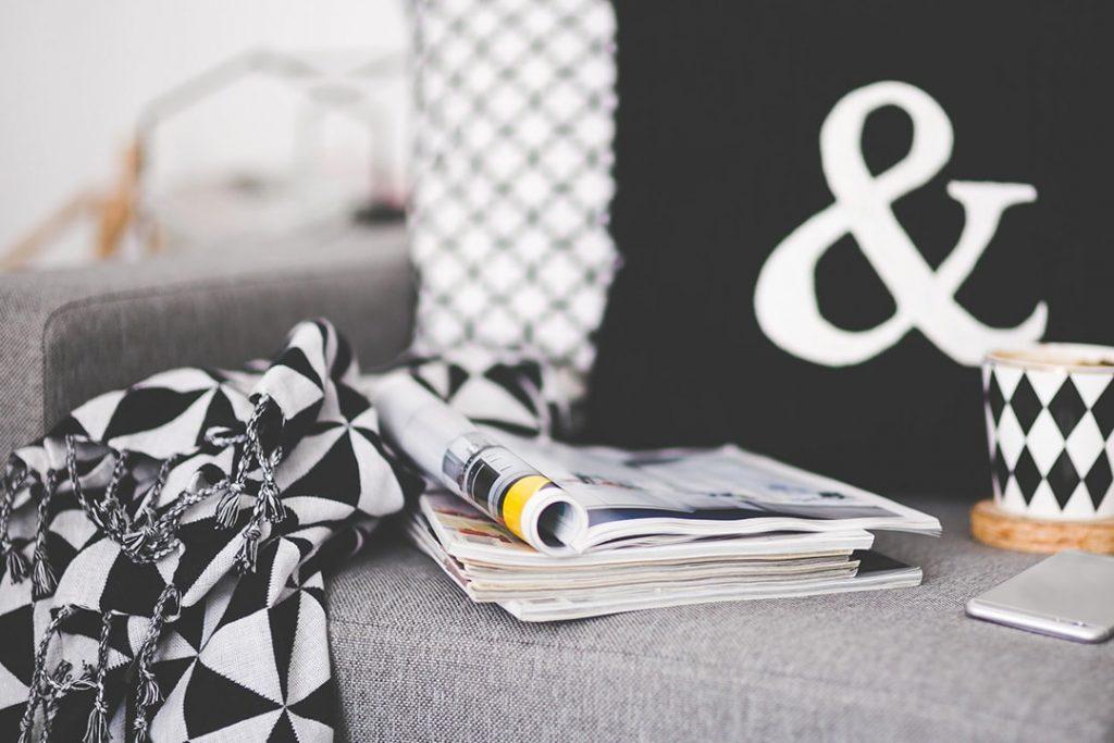 Einrichten in Schwarz-Weiß: Scandi-Design