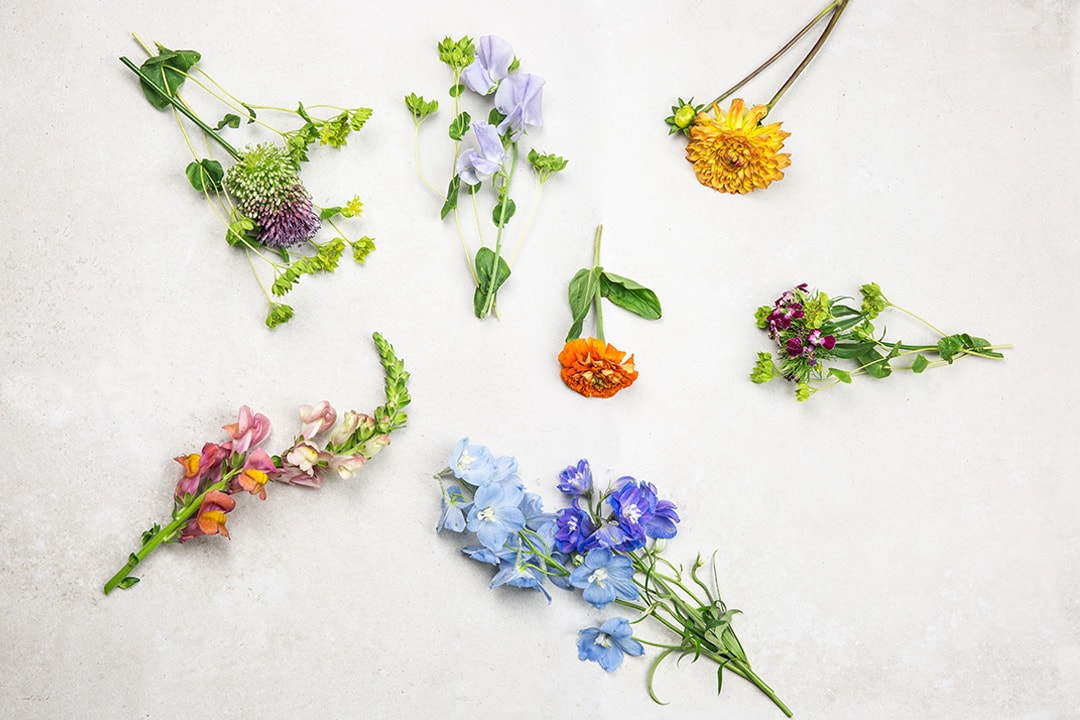 Blumendeko Moodboard